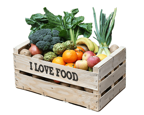 Caja mixta fruta y verdura ecologica a domiciio en Barcelona