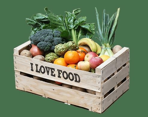 Caixa mixta fruita i verdura ecològica a domicili a Barcelona
