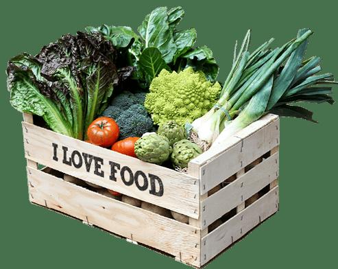 Caja verdura ecológica a domicilio en Barcelona