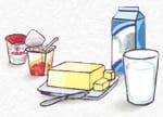 leche y yogures