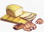 pan, croissants, magdalenas, bolleria